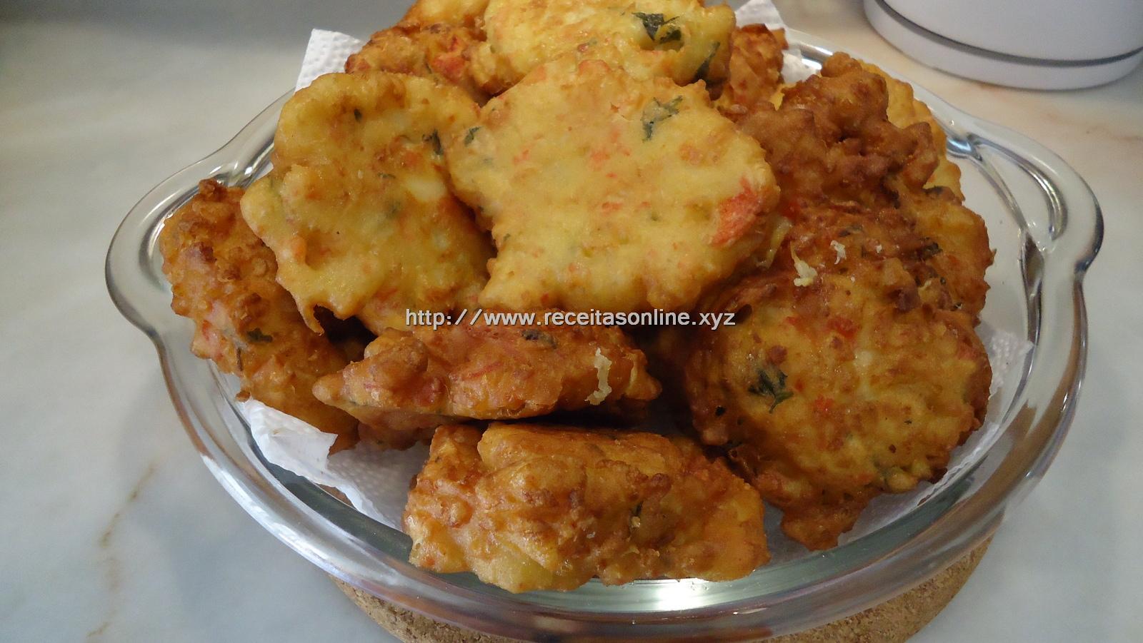 Pataniscas de delicias do mar
